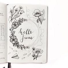 Bullet Journal Layout Ideas