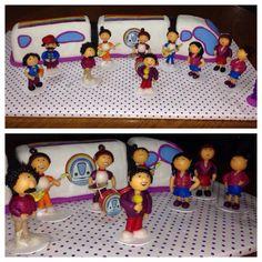 La torta más increíble del mundo!!! kien me lo puede hacer los personajes los kiero para souvenirs para cumple de 2 años!!!alguien que me responda!!!