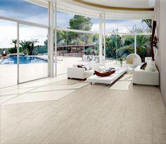 Ceramic Tile flooring, looks like wood!