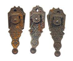 Rare cast iron shutter latch