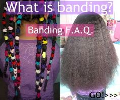 Banding? Interesting for curly hair. Had never heard of it before...