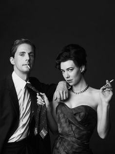 Matthew Goode & Vanessa Kirby As Tony Armstrong Jones & Princess Margaret- Vanity Fair