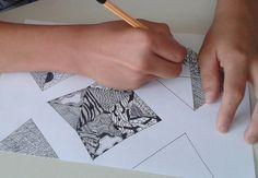 Meixner EGYMI gyógypedagógiai intézmény 5. osztályos diákjának rajza-special education