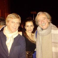 Con Mariano Rigillo e Renzo Musumeci Greco