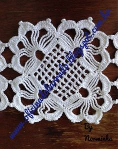 Free Crochet Doily Patterns, Crochet Symbols, Crochet Blocks, Crochet Diagram, Crochet Doilies, Crochet Flowers, Crochet Lace, Crochet Classes, Crochet Projects