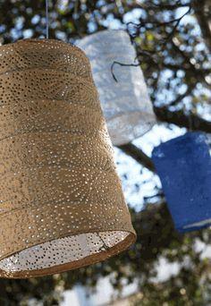 """Solar Lanterns Soji Stella Outdoor Lantern - 7"""" Bronze"""