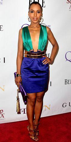 I like Kerry Washington's Style* A true style icon in my eyes. (*_*)
