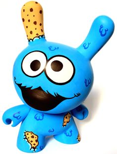 The_Cookie_Monster-Wuzone-Dunny-trampt-10432o.jpg (564×744)⛱DUNNY and MUNNY KIDROBOT⛱More Pins Like This At FOSTERGINGER @ Pinterest⛱⛱ Weird Toys, Cool Toys, Vinyl Toys, Vinyl Art, Clay Monsters, Robots For Kids, Japanese Toys, Vinyl Figures, Designer Toys