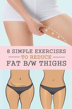 8 SIMPLE EXERCISES TO REDUCE FAT BETWEEN THIGHS