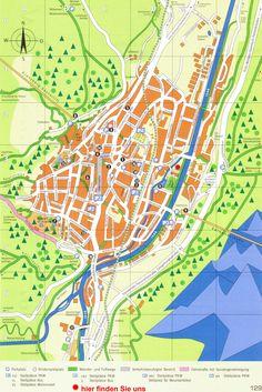 Mittenwald Tourist Map