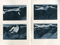 Leanne Shapton. Swimming studies.