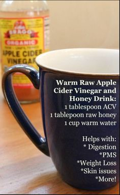 APPLE CIDER VINEGAR AND RAW HONEY: THIS WARM DRINK HAS AMAZING HEALTH BENEFITS! – Gust Of Wind~