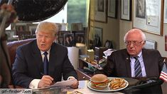 Bernie Sanders Scares Donald Trump Again | Gif Finder – Find and Share funny animated gifs