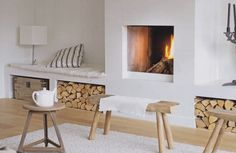 Fire place interior