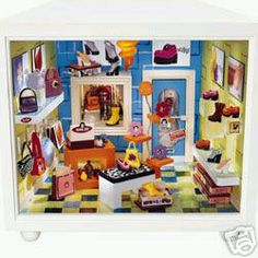 American Girl Collection * American Girl Mini Rooms = Complete Petite Boutique Set - 2000?