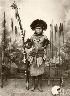 Retrato de índio com arco e flechas Pastore, Vincenzo Thumbnail
