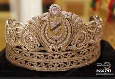 The Royal Gendik. Malaysian queen's royal tiara on display inside a museum in Istana Negara Lama (the former National Palace of Malaysia). (This could be a replica.)