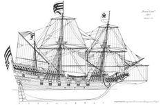 free-download-sail-ship-model-plans