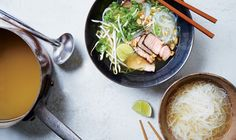 Quick Pork Pho. A few spices (and a cool skillet move) turn store-bought broth into something deeply satisfying.