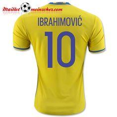 540ac231a Zlatan Ibrahimovic Sweden home shirt for Euro 2016