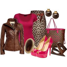 """Pretty In Pink 2"" by hope-houston on Polyvore"