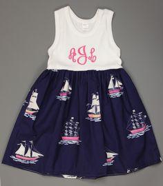 Sailboat Lily Dress www.facebook.com/Southerntots