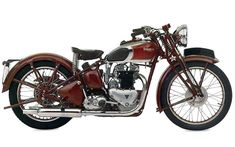 late 30s Triumph Speed Twin