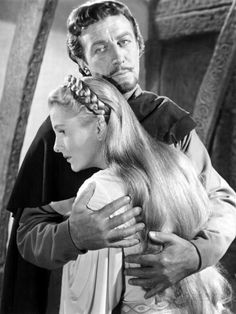 Joan Fontaine & Robert Taylor (Ivanhoe 1952 - Richard Thorpe)