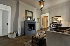 Norwegian moods Real Estate, Flooring, Interior Design, Dining, Living Room, Inspiration, Apartments, Home Decor, Interiors
