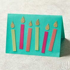 Make a DIY birthday