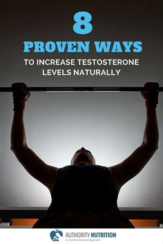 The hormone testosterone is important for muscle mass, fat loss and health. Here are 8 natural ways to increase testosterone levels, backed by science: https://authoritynutrition.com/8-ways-to-boost-testosterone/
