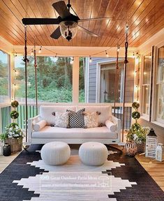 home design 30 Gorgeous And Inviting Farmhouse Style Porch Decorating Ideas Home Decor Styles, Cheap Home Decor, Outdoor Spaces, Outdoor Living, Outdoor Decor, Porch Decorating, Decorating Ideas, Decor Ideas, Decorating Kitchen