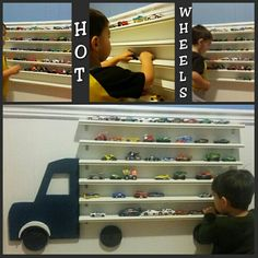 Storage/shelves for Hot Wheels