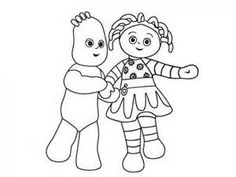 Image result for iggle piggle silhouette Favourite toy cake