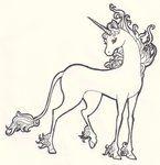 the last unicorn tattoo - Google Search