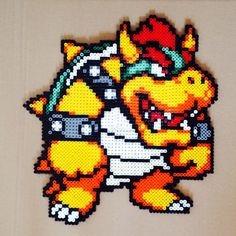 Bowser perler beads (6 pegboards) by natalam18