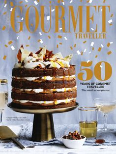 Salted caramel layer cake :: Gourmet Traveller Magazine Mobile