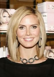 medium hair cut - wish my forehead was longer so I didnt't have to wear bangs and I could have this haircut - love it!