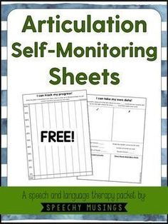 Have your speech and language students take their OWN  data this school year! Increases accountability! From Speechy Musings.