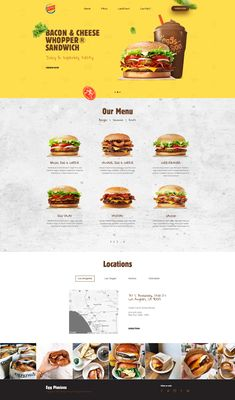 A little concept for burger king – Inspire Design Blog Website Design, Food Website, Website Design Inspiration, Website Layout, Website Ideas, Best Restaurant Websites, Restaurant Website Design, Restaurant Recipes, Maquette Site Web