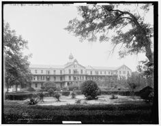 Spring Hill College in Spring Hill College, Mobile Alabama, Sweet Home Alabama, Vintage Pictures, Mardi Gras, Mysterious, Coast, Spaces, Mansions