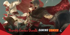 Pay what you want for The Humble Book Bundle: Gaming Comics by Titan (Assassin's Creed, Warhammer, Dark Souls, etc. Humble Bundle, Pay What You Want, The Evil Within, Dark Souls, Geek Culture, Assassins Creed, Arcade, Fantasy Art, Gaming