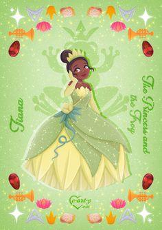 Tiana And Naveen, Disney Princess Tiana, Disney Princess Drawings, Disney Drawings, Disney And Dreamworks, Disney Pixar, Disney Characters, Disney Fan Art, Disney Love