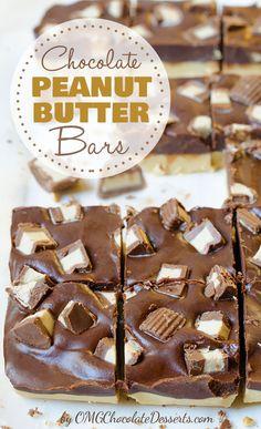No-bake, no muss, no fuss - chocolate peanut butter bars recipe