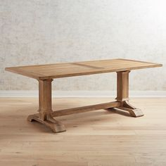 Stafford Reclaimed Pine Extending Dining Table F U R N I