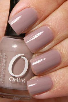 grape fizz nails: Orly, You're Blushing