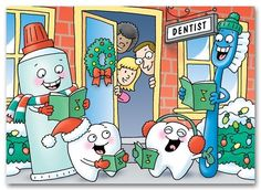 Christmas Caroling Dental Style