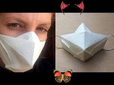 Surgical mask origami. Maseczka chirurgiczna origami. Surgical mask origami. Maseczka chirurgiczna origami. - YouTube<br> Facial Tissue, Origami, Personal Care, Youtube, How To Make, Self Care, Personal Hygiene, Paper Folding, Youtube Movies