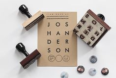 Josh Anderson Promo & Branding by Mark Harris | Inspiration Grid | Design Inspiration