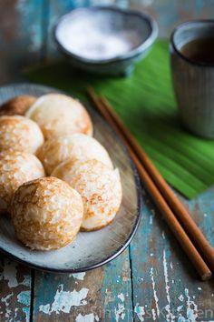 Sweet Coconut Asian Pancakes Recipe (Gluten-Free) | insimoneskitchen.com